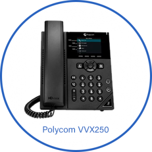 Polycom VVX250 Phone